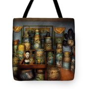 Collector - Hats - The Hat Room Tote Bag by Mike Savad