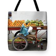 Colombia Fruit Cart Tote Bag
