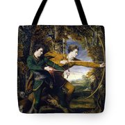 Colonel Acland And Lord Sydney - The Archers Tote Bag