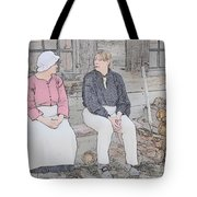 Colonials At Rest Tote Bag