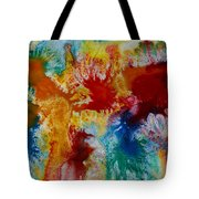 Color Abstracts Tote Bag