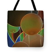 Colored Bubbles Tote Bag