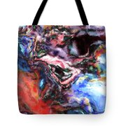 Colorful Abstract Tote Bag