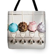 Colorful Cake Pops Tote Bag