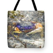 Colorful Crabstract 2 Tote Bag