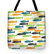 Colorful Fish  Tote Bag by Linda Woods