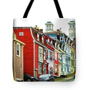 Colorful Houses In St. Johns In Newfoundland Tote Bag