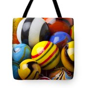 Colorful Marbles Tote Bag