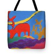 Colorful Street Art Tote Bag