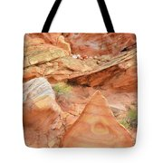 Colorful Wash 3 In Valley Of Fire Tote Bag