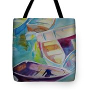 Colorfull Dingies Tote Bag