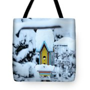 Colors In The Snow Tote Bag