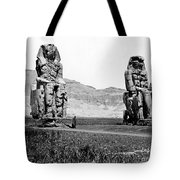 Colossi Of Memnon, Valley Of The Kings Tote Bag
