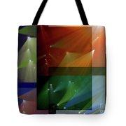 Coloured Lights II Tote Bag
