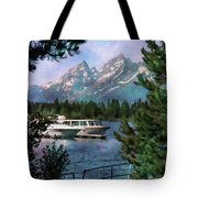 Colter Bay In The Tetons Tote Bag