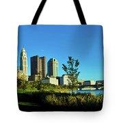 Columbus Ohio Panorama Tote Bag