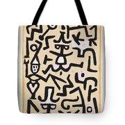 Comedians' Handbill Tote Bag