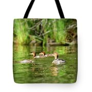 Common Merganser Tote Bag