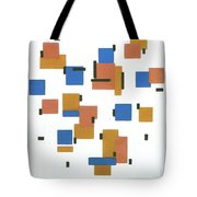 Composition With Colours Tote Bag