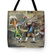 Congressional Pugilists Tote Bag
