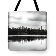 Contemplating Contrasts Tote Bag
