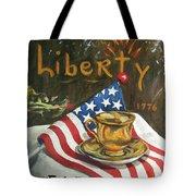 Contemplating Liberty Tote Bag