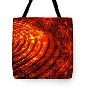 Copper Rose Tote Bag