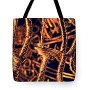 Copper Wirework Tote Bag