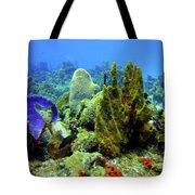 Coral Head Tote Bag