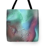 Coral, Turquoise, Teal Tote Bag by Julia Fine Art