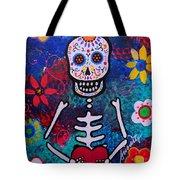 Corazon Day Of The Dead Tote Bag