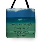 Corey Rockafeler - Inspirational Tote Bag