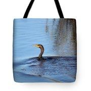 Cormorant In The Marsh Tote Bag