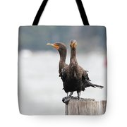Cormorants Port Jefferson New York Tote Bag