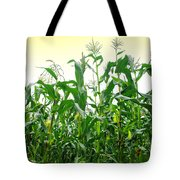 Corn Field Tote Bag by Carlos Caetano