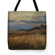Cornfield At Sunset Tote Bag