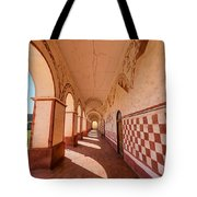 Corridor And Arches Tote Bag