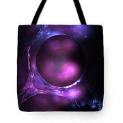 Cosmic Plasma Tote Bag