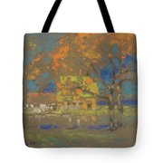 Cottage Amongst The Trees Tote Bag
