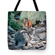 Cottontail Sunrise Tote Bag
