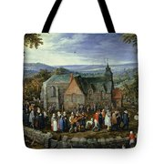 Country Wedding Tote Bag