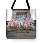 Country Window Tote Bag