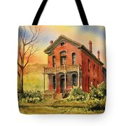 Courthouse Bannack Ghost Town Montana Tote Bag