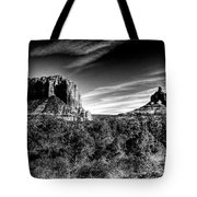 Courthouse Butte And Bell Rock Sedona Arizona Tote Bag