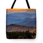 Cowee Overlook. Tote Bag