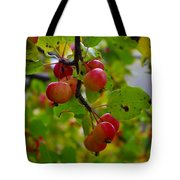 Crab Apples Tote Bag
