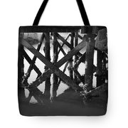 Crab Traps Tote Bag