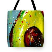 Crazy Avocado Tote Bag by Patricia Awapara