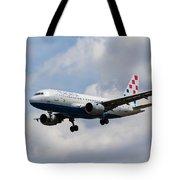 Croatia Airlines Airbus A319 Tote Bag