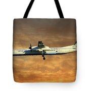 Croatia Airlines Bombardier Dash 8 Q400 Tote Bag